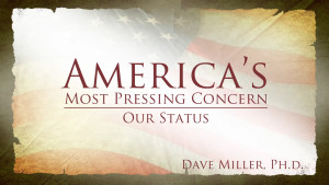 Our Status | America's Most Pressing Concern