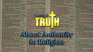Searching for Truth: About Authority in Religion