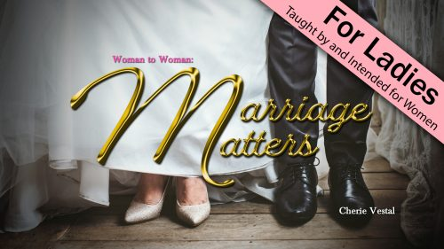 Woman to Woman Marriage Matters Program