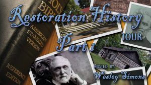 Restoration History Tour Part 1