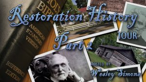 Restoration History Tour Part 2