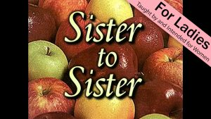 2. Sister to Sister | Apple of Thine Eye