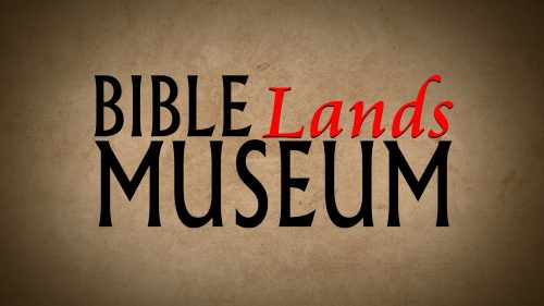 Bible Lands Museum Program