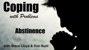 Coping with Problems: 22. Abstinence
