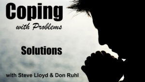 Coping with Problems: 8. Solutions (continued)