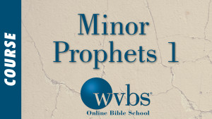 Minor Prophets 1 (Online Bible School)