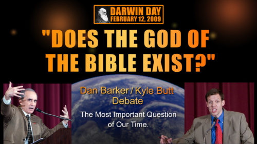 Debate: Does the God of the Bible Exist