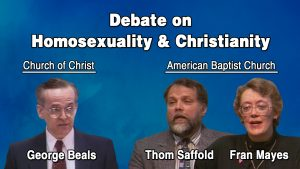 Homosexuality & Christianity | Beals-Saffold-Mayes Debate