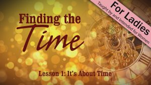 It's About Time | Finding the Time