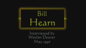 Interview with Bill Hearn by WVBS