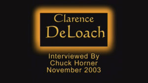 Interview with Clarence DeLoach by WVBS