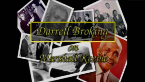 Interview with Darrell Broking on Marshall Keeble by WVBS