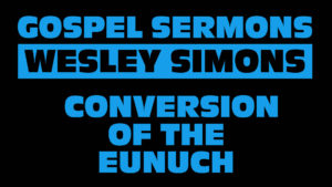 6. The Conversion of the Eunuch | Gospel Sermons by Wesley Simons