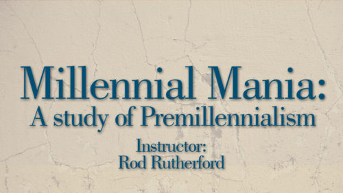 Millennial Mania by Rod Rutherford