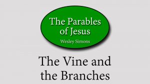 23. The Vine and the Branches | Parables of Jesus