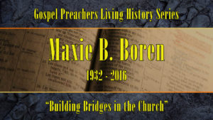 Building Bridges in Church | Sermon by Maxie Boren