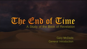 The End of Time: 1. General Introduction