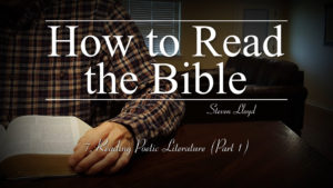 7. Reading Poetic Literature (Part 1) | How to Read the Bible